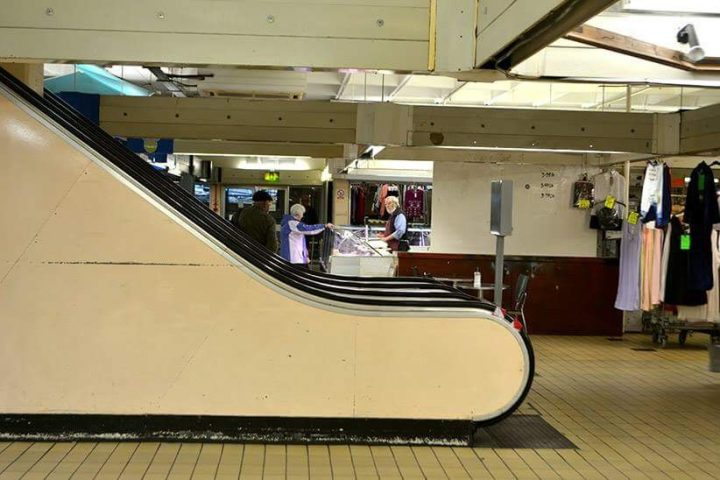 The ups and downs of the Indoor Markets Pic: Joseph Gudgeon