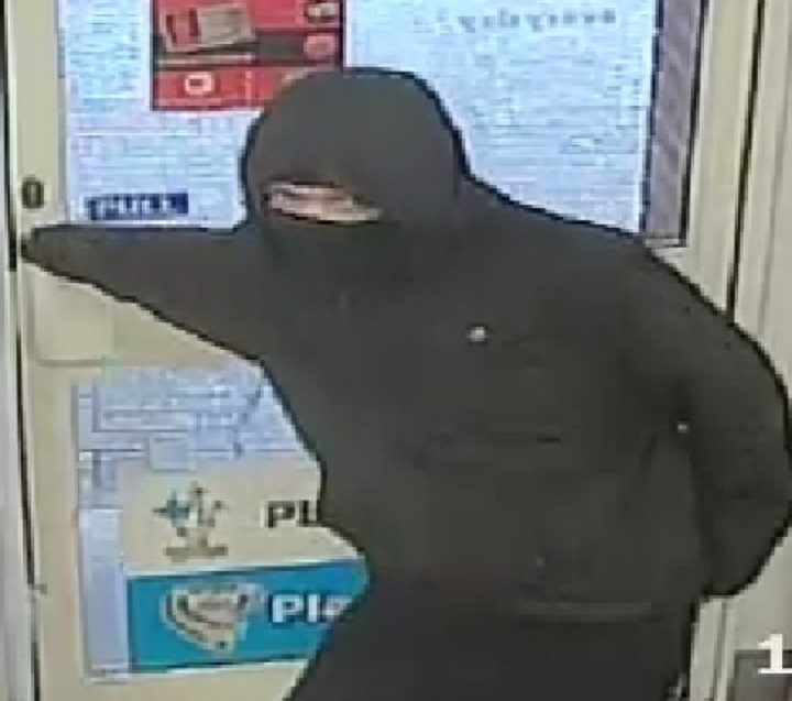 CCTV picture released of man suspected of One Stop shop