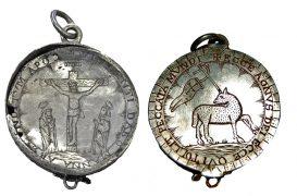 The silver treasure was found near Preston