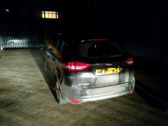 The car was discovered in the Docks area Pic: LancsRoadPolice