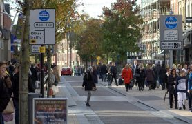 The Fishergate bus lane signs Pic: Tony Worrall
