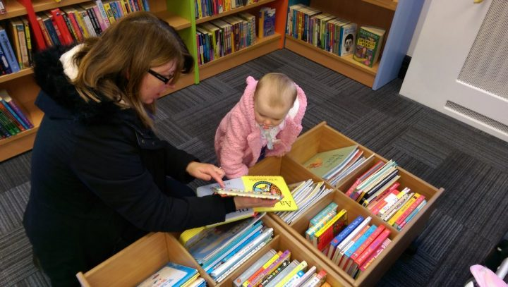 Exploring the books in Fulwood Library