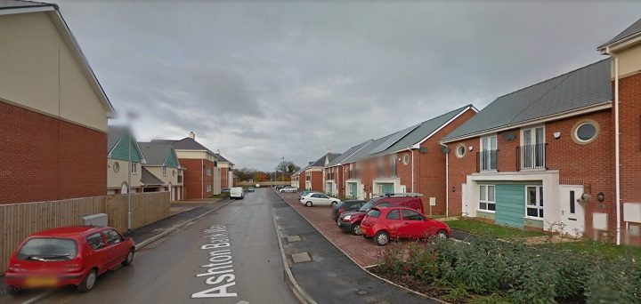 Ashton Bank Way in Larches Pic: Google
