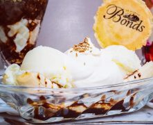 Some mouth-watering treats will be on the menu at Bonds - including a banana split