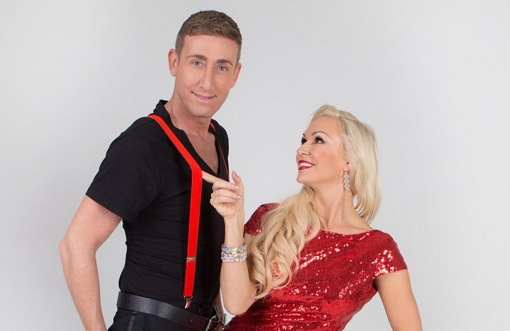 Christopher Maloney and Kristina Rihanoff will appear in Dance to the Music