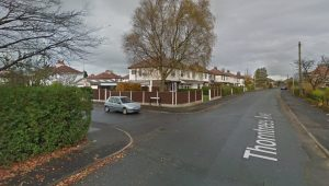 Junction of Lowood Grove and Thorntrees Avenue Pic: Google