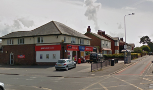 The One Stop in Fulwood was targeted on Saturday night Pic: Google