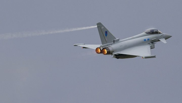 The typhoon deal looks to have stopped job losses at BAE Warton Pic: BAE Systems