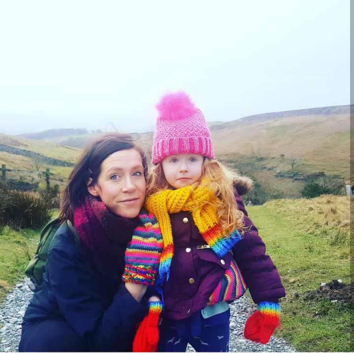 Roisin and daughter Ivy