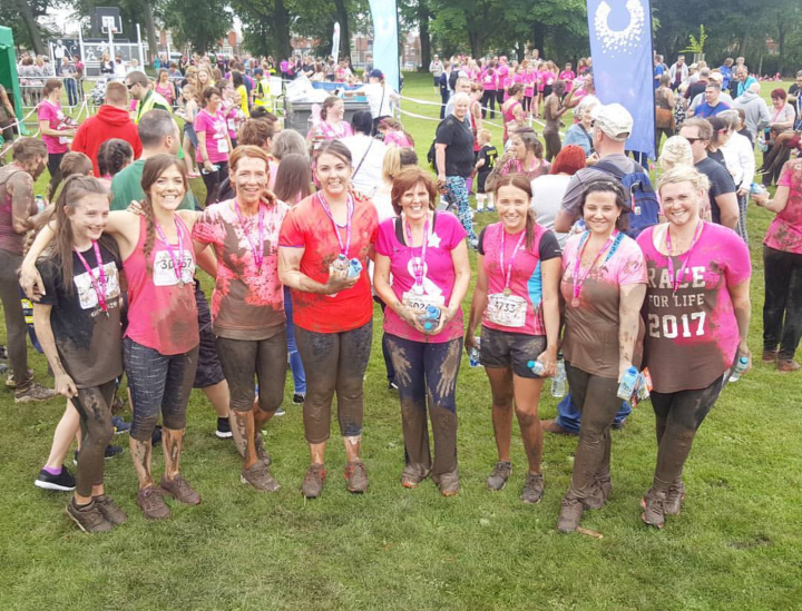 Taking on Pretty Muddy!