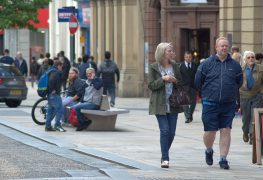 The number of people shopping in Fishergate will be recorded Pic: Tony Worrall