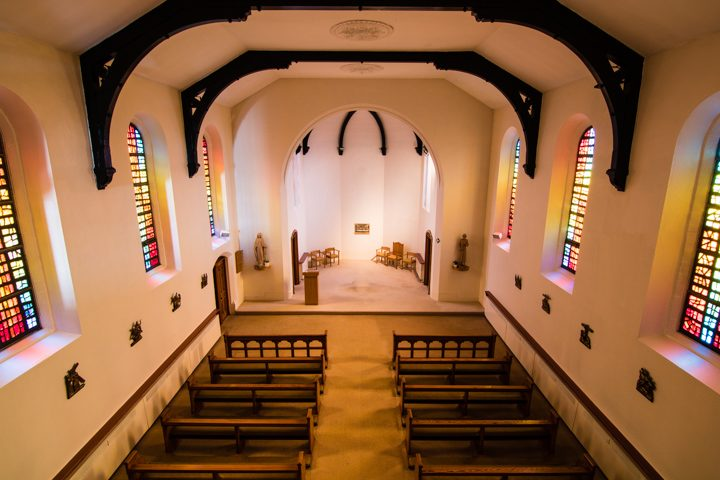 The chapel at the Little Sisters of the Poor