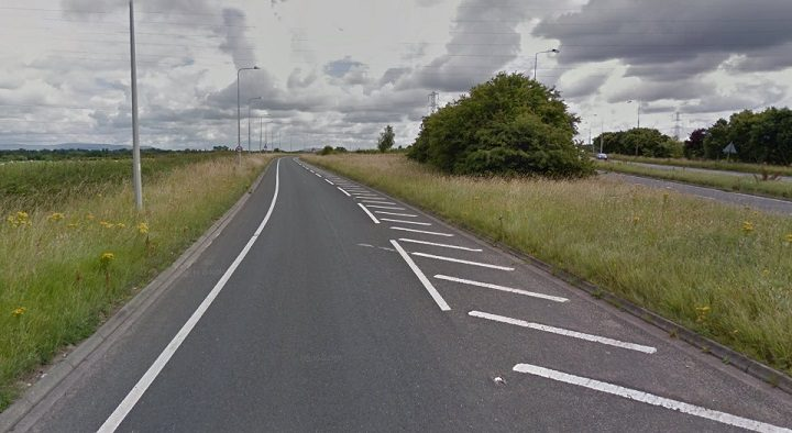 The slip road from Blackpool Road heads to Riversway Pic: Google