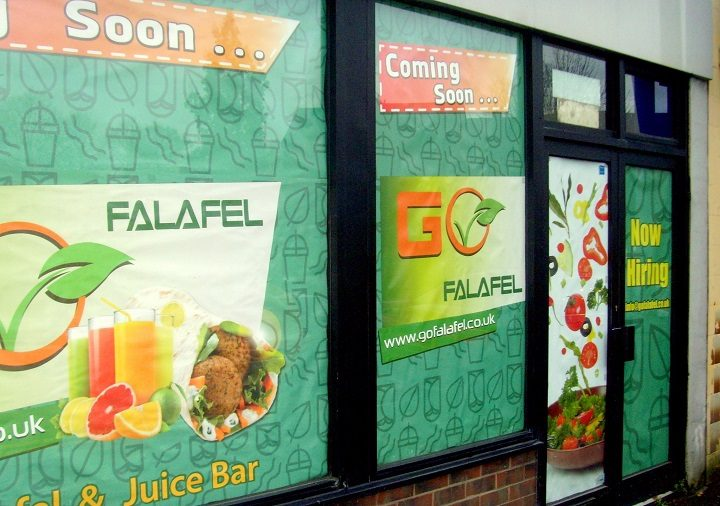 The Go Falafel takeaway in Fylde Road Pic: Tony Worrall