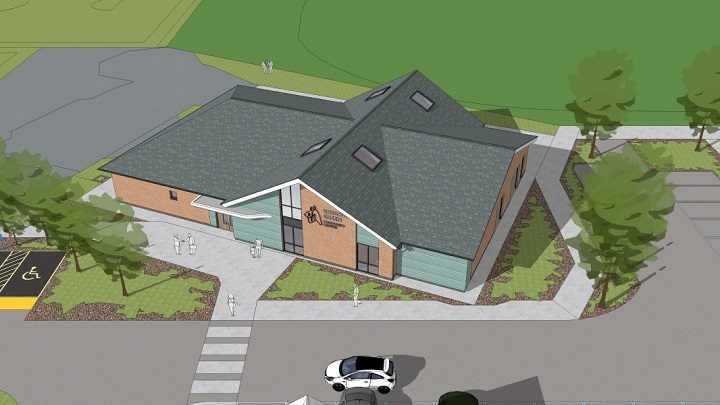 How the new Gregson Green Community Centre may look