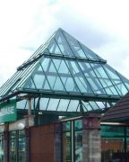 The pyramid will come down as part of the revamp Pic: Tony Worrall