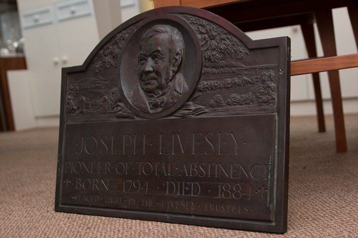 The Joseph Livesey plaque