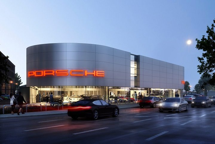 porsche centre for preston docks wins approval blog preston. Black Bedroom Furniture Sets. Home Design Ideas