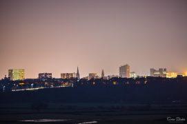 Preston's skyline as viewed from Cuerdale Lane Pic: Sonia Bashir