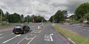 The junction of Riversway and Pedders Lane Pic: Google