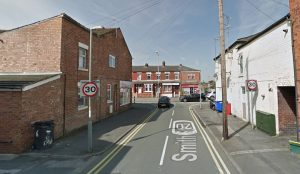 Smith Street where one of the incidents took place, joins onto Station Road Pic: Google