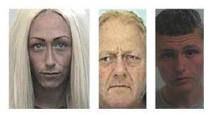 Leanne Duffin, Brian Duffin and Jordan Whittle were all jailed for their roles in the supply of drugs