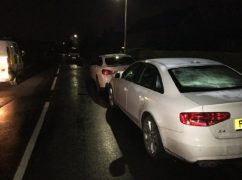 Police recovered the vehicles during the early hours of Friday morning Pic: South Ribble Police