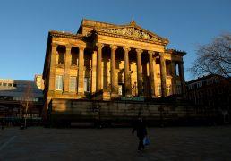 Harris lit in winter sunshine Pic: Tony Worrall
