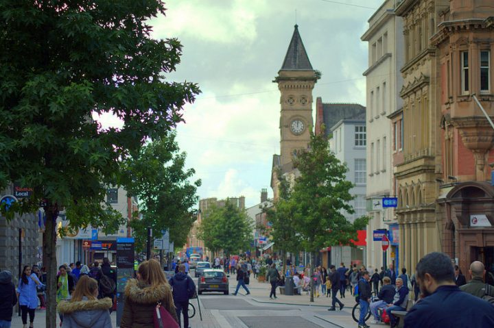 Looking down Fishergate Pic: Tony Worrall