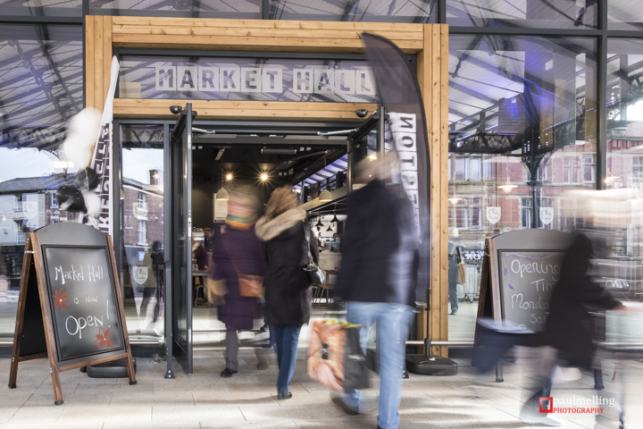 The new Market Hall