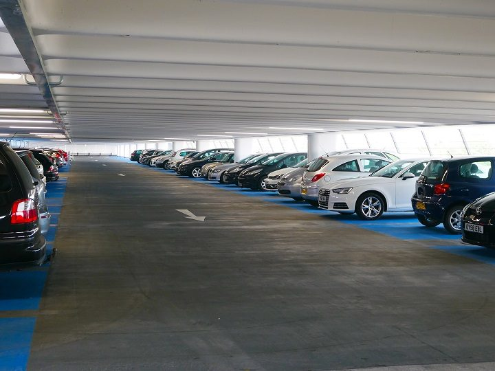 How the Bus Station car park now looks Pic: Lancashire County Council