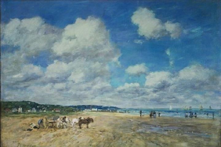 Eugène Boudin (1824-1898), Deauville, 1893, © The Samuel Courtauld Trust