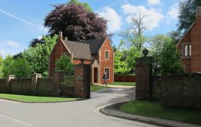 How one of the gatehouse homes at The Grange will look
