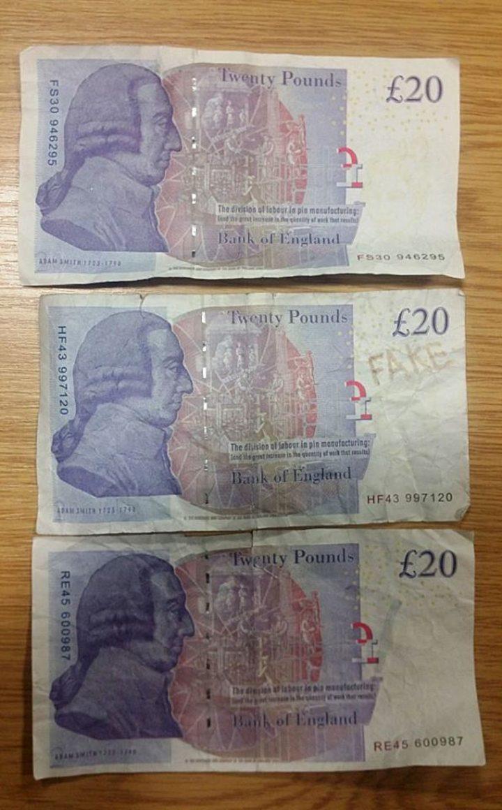 Police Warn About Fake 163 20 Notes Circulating In Preston