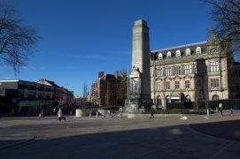 The Flag Market in Preston Pic: Tony Worrall