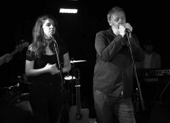Smith joined One Sided Horse on stage at The Lantern for Still In Space