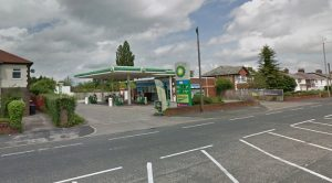 The BP garage in Lea was targeted Pic: Google