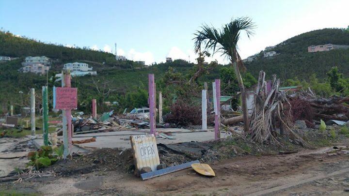 Damage from Hurricane Irma
