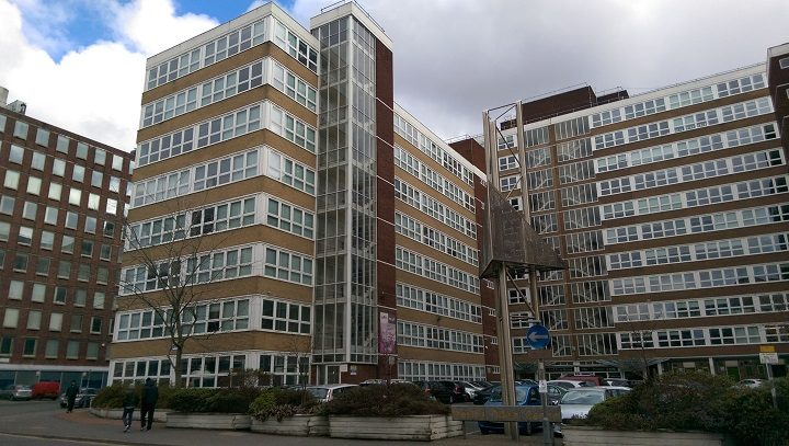 Another view of the office blocks in Lancaster Road