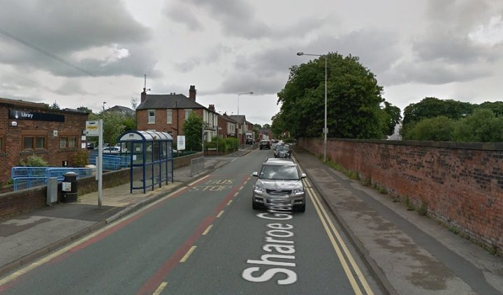 The incident took place in Sharoe Green Lane Pic: Google