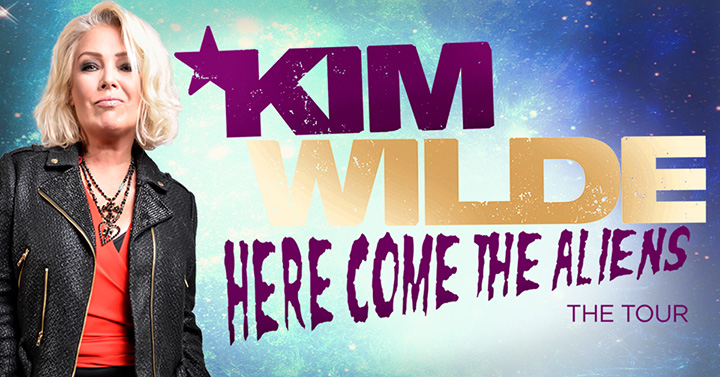 Kim Wilde is playing Preston on her