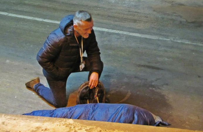 The Foxton Centre's Assertive Outreach monitors rough sleeping patterns. Pic: The Foxton Centre