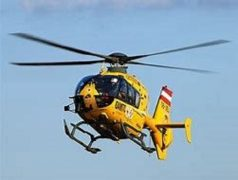 Air ambulance called out