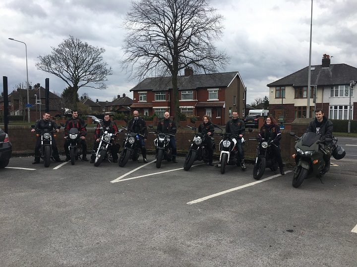 The Wild Bulls preparing to ride to RPH