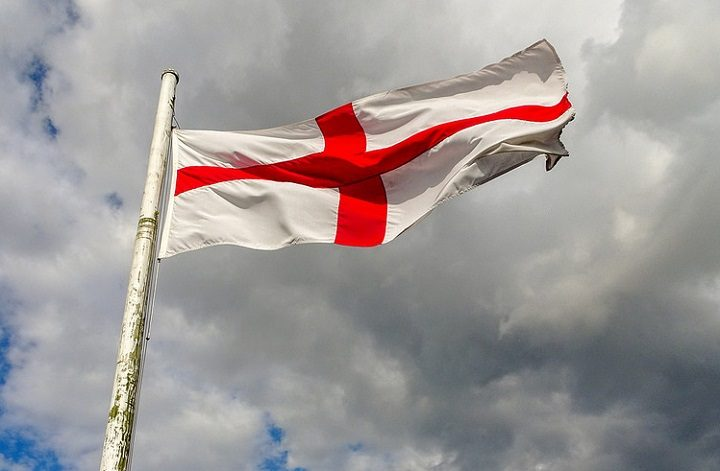 English flag, the cross of St George Pic: Dunnock_D