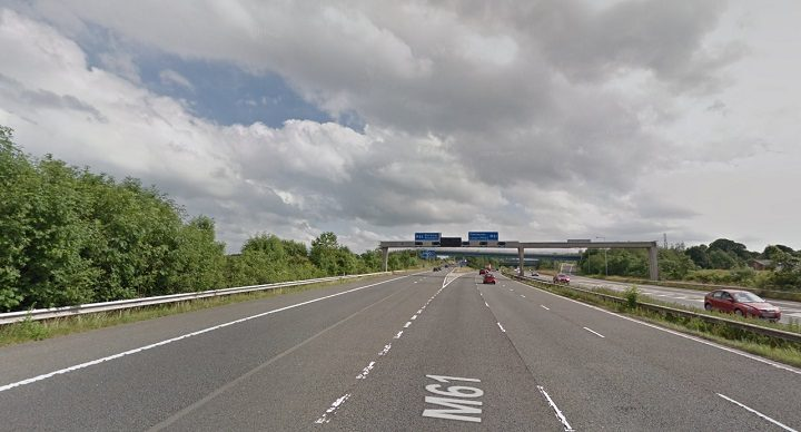 M61 southbound Pic: Google