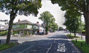 Watling Street Road near Marinos Pic: Google