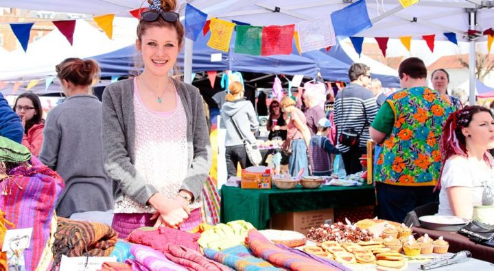 Makers display their wares during one of the events at the Festival of Making