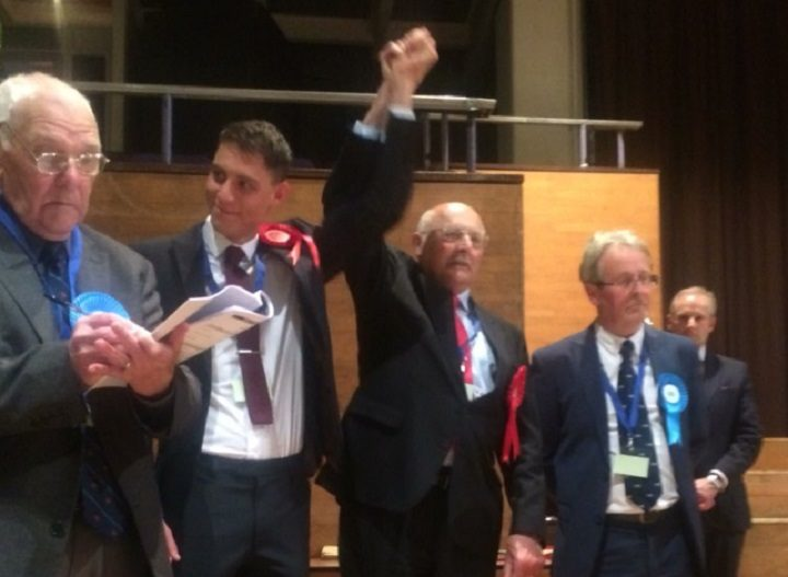 Labour took a seat in College ward Pic: Amy Farnworth