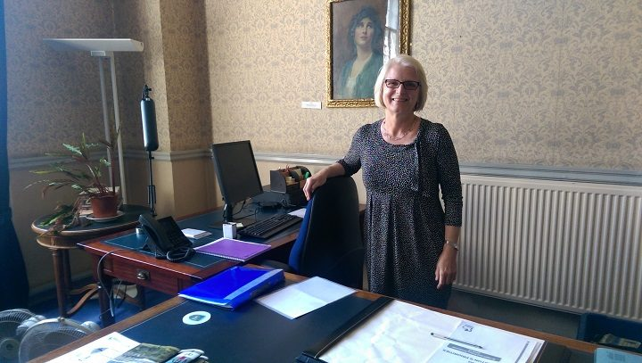 Lorraine Norris in her office at the Town Hall Pic: Blog Preston